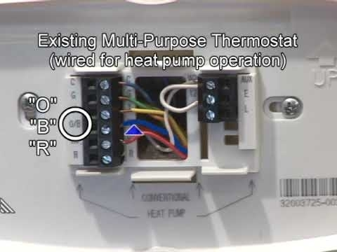 heat pump wiring mechanical settings youtube intended for honeywell heat pump thermostat wiring diagram?resize\\\\\\\=480%2C360\\\\\\\&ssl\\\\\\\=1 heat pump wiring mechanical settings youtube on wiring diagram for bryant heat pump wiring diagram at fashall.co